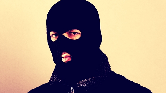 Man in balaclava